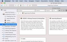 Scrivener toolbar - Scrivener Interface Overivew